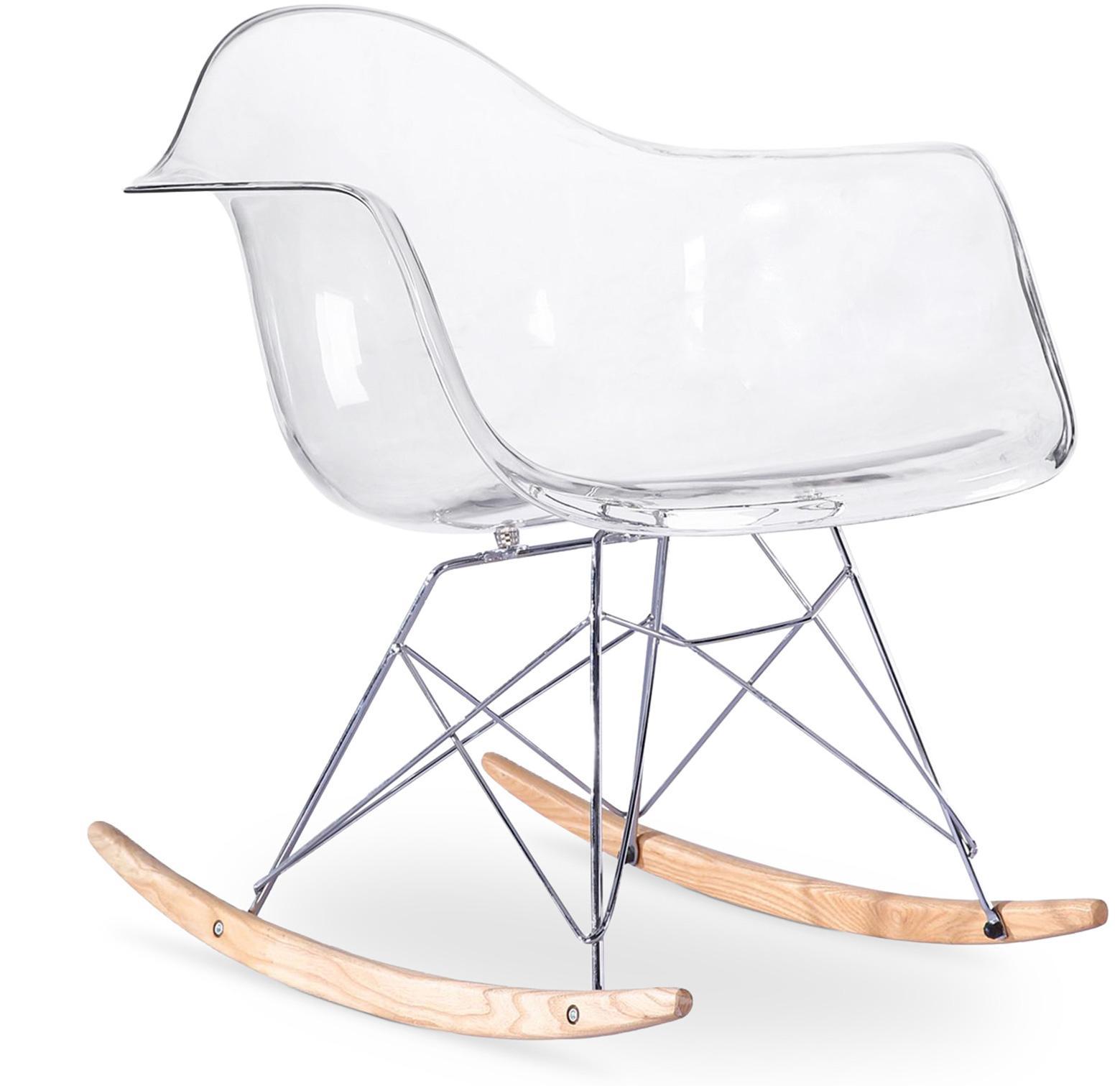 Rocking Chair Transparent polycarbonate LesTendances