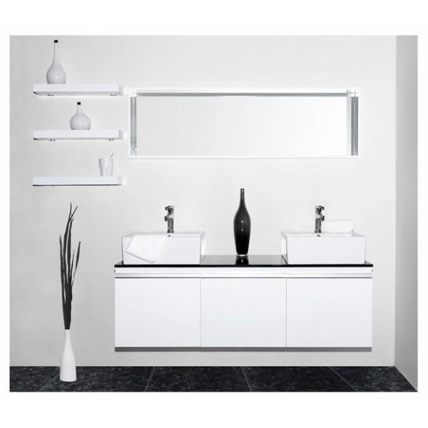 Salle de bain moderne blanc padang for Voir salle de bain moderne