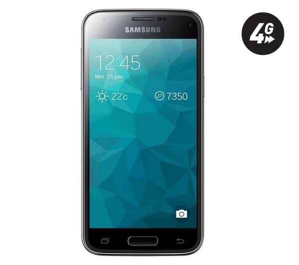 samsung galaxy s5 mini 4g 16 go smartphone noir. Black Bedroom Furniture Sets. Home Design Ideas