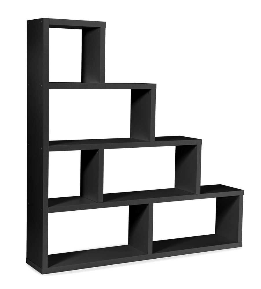 etagere noire. Black Bedroom Furniture Sets. Home Design Ideas