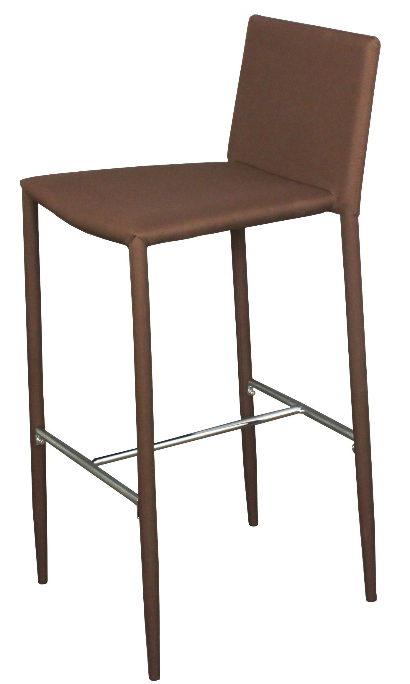 chaise haute tissu marron vunka. Black Bedroom Furniture Sets. Home Design Ideas