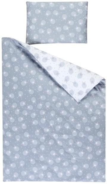 linge de lit gris et blanc agneaux. Black Bedroom Furniture Sets. Home Design Ideas