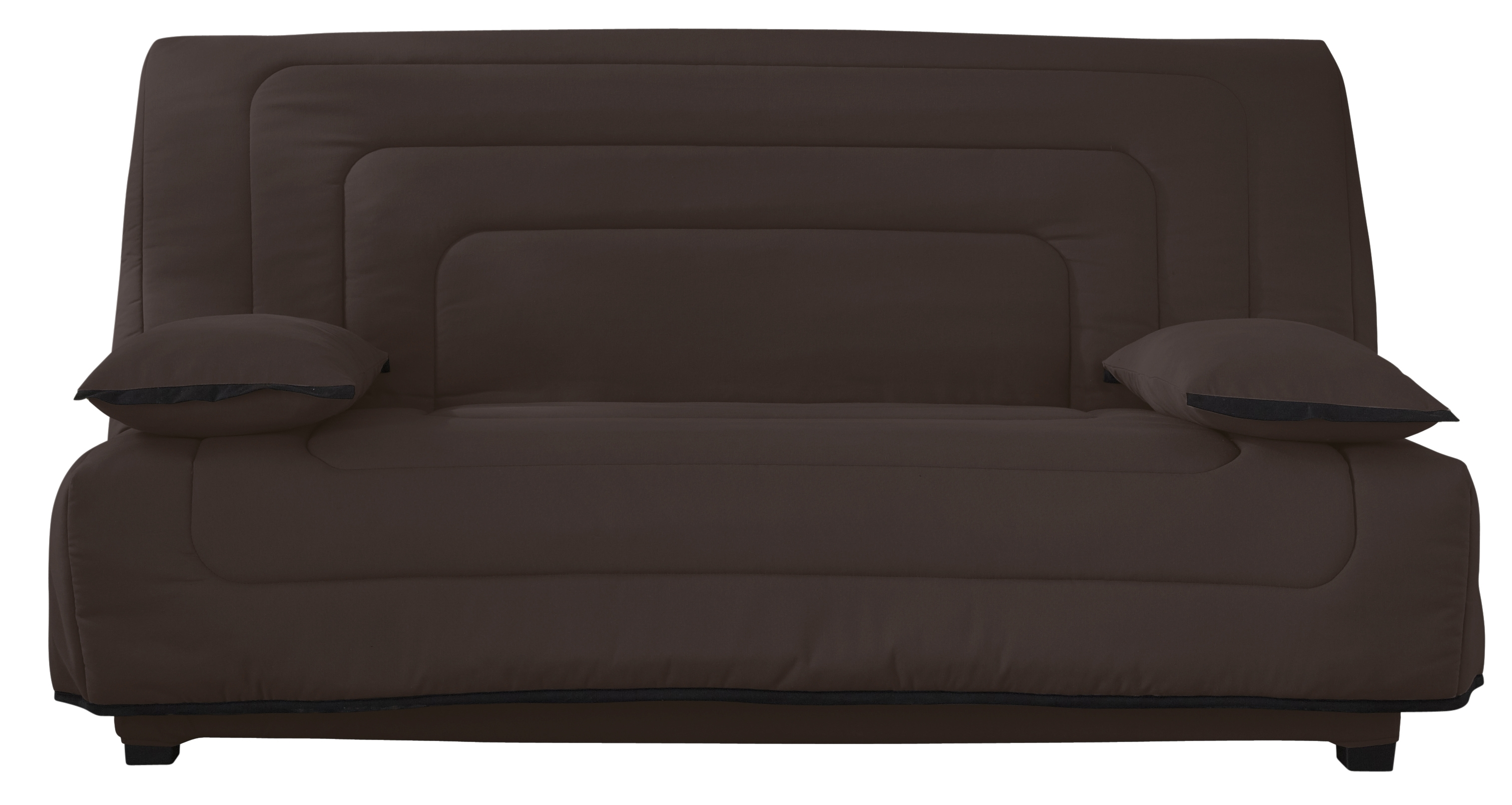 Clic clac marron matelas simmons 140 winter - Housse clic clac marron ...