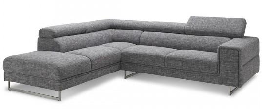 canap d 39 angle avec appuis t te en tissu art. Black Bedroom Furniture Sets. Home Design Ideas