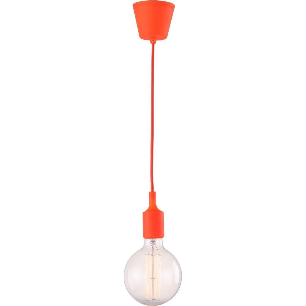 Suspension Ampoule Orange Edison