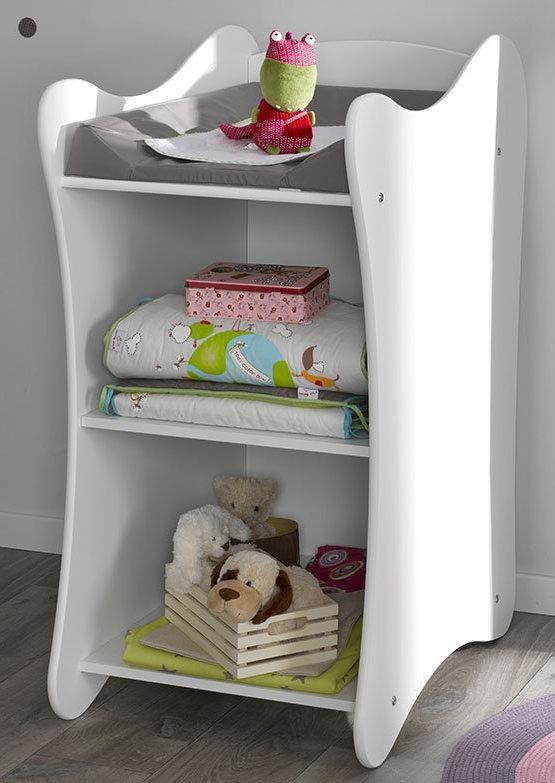 table langer blanc iris. Black Bedroom Furniture Sets. Home Design Ideas
