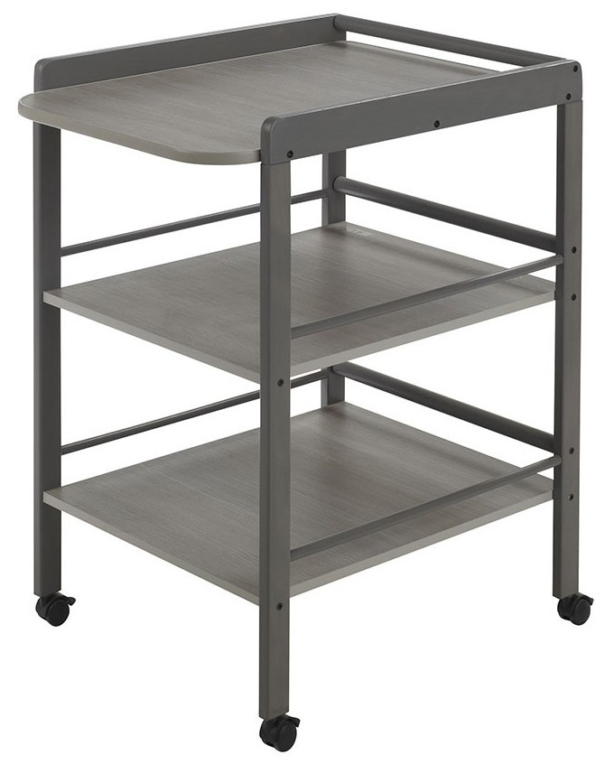 table langer gris taupe clarissa. Black Bedroom Furniture Sets. Home Design Ideas