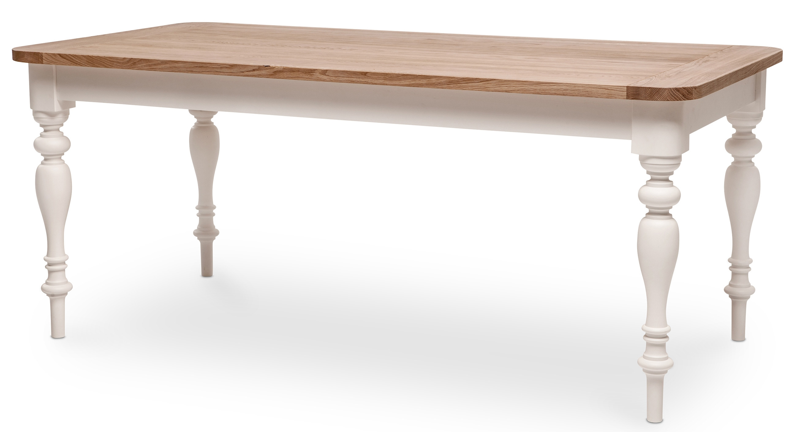 Table a manger bois massif table manger design industriel for Table salle a manger extensible bois massif