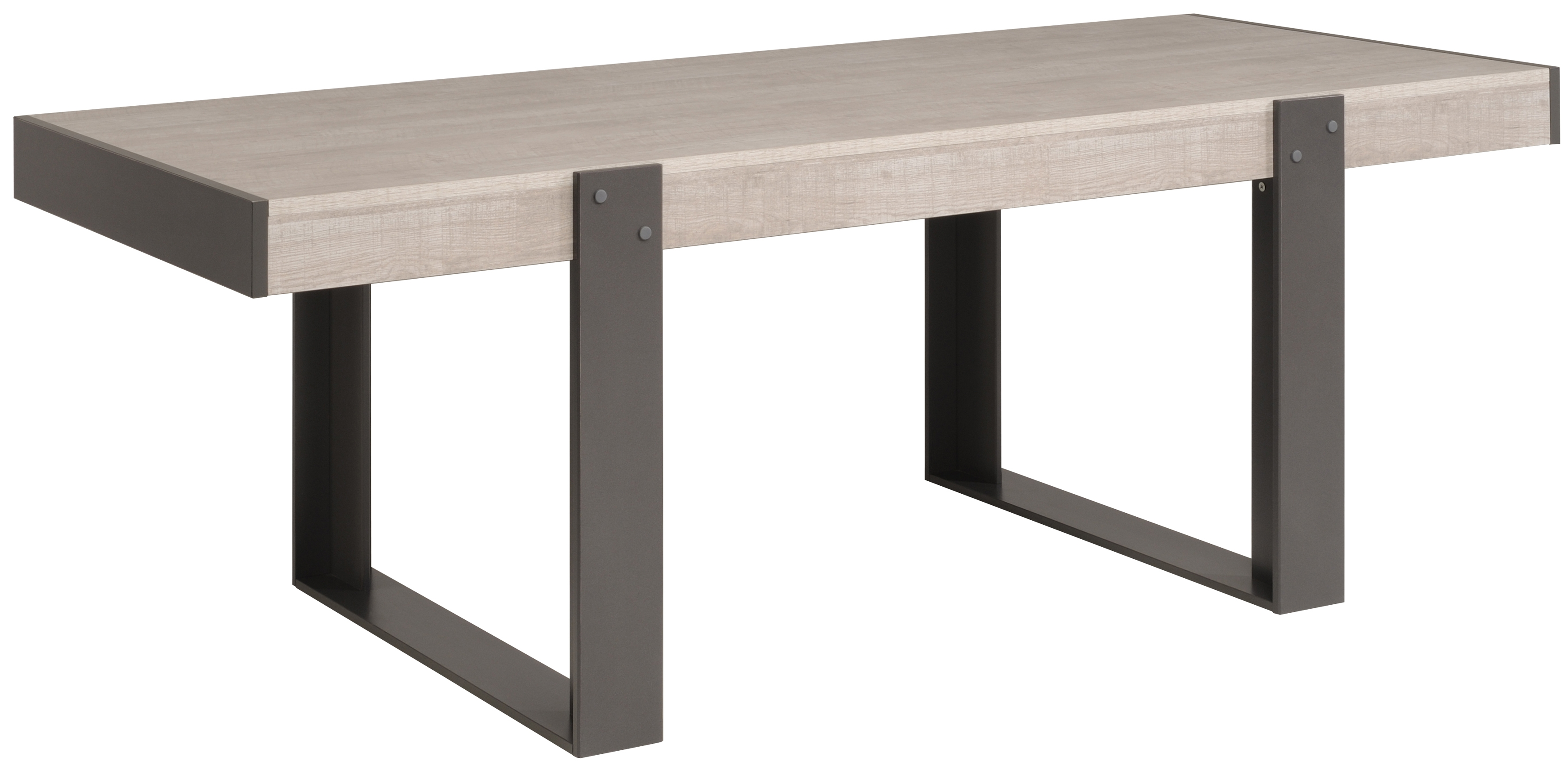 table manger rectangulaire gris loft et gris ombre harvey. Black Bedroom Furniture Sets. Home Design Ideas