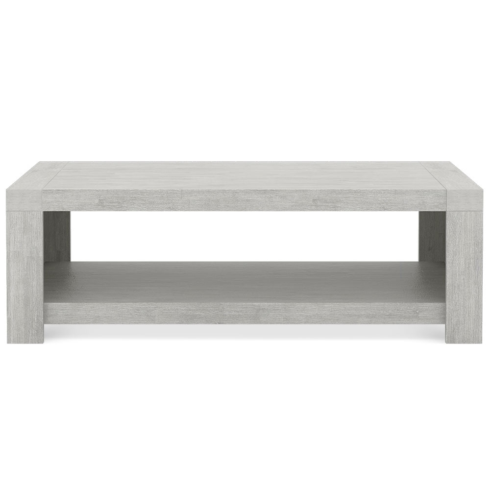 Table basse bois gris clair table basse vitrine