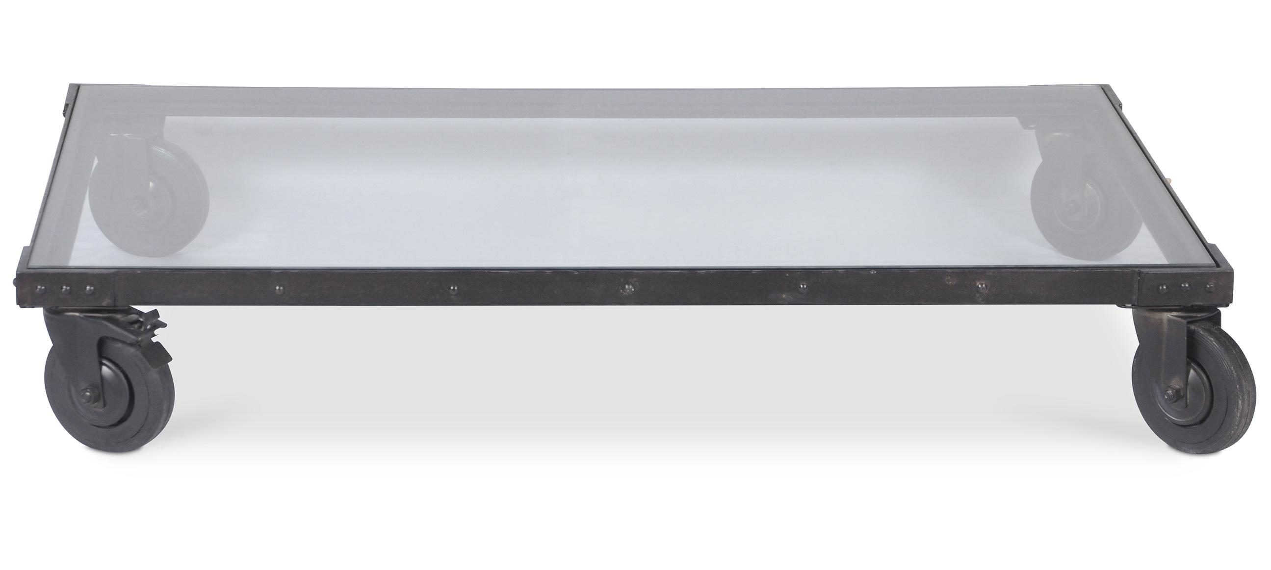 Ehrf rchtige table basse en acier id es de conception de - Table basse acier noir ...