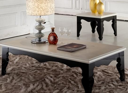 table basse baroque noir et beige. Black Bedroom Furniture Sets. Home Design Ideas