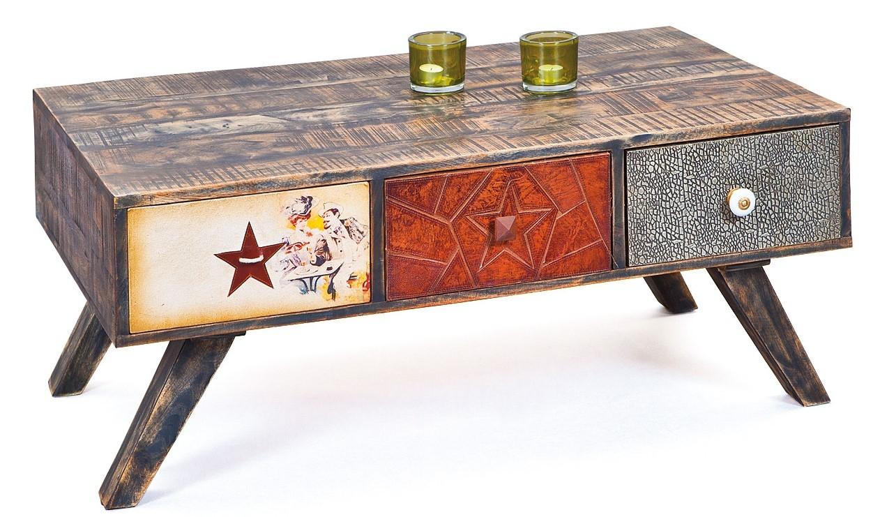 table basse bois et m tal pascale. Black Bedroom Furniture Sets. Home Design Ideas