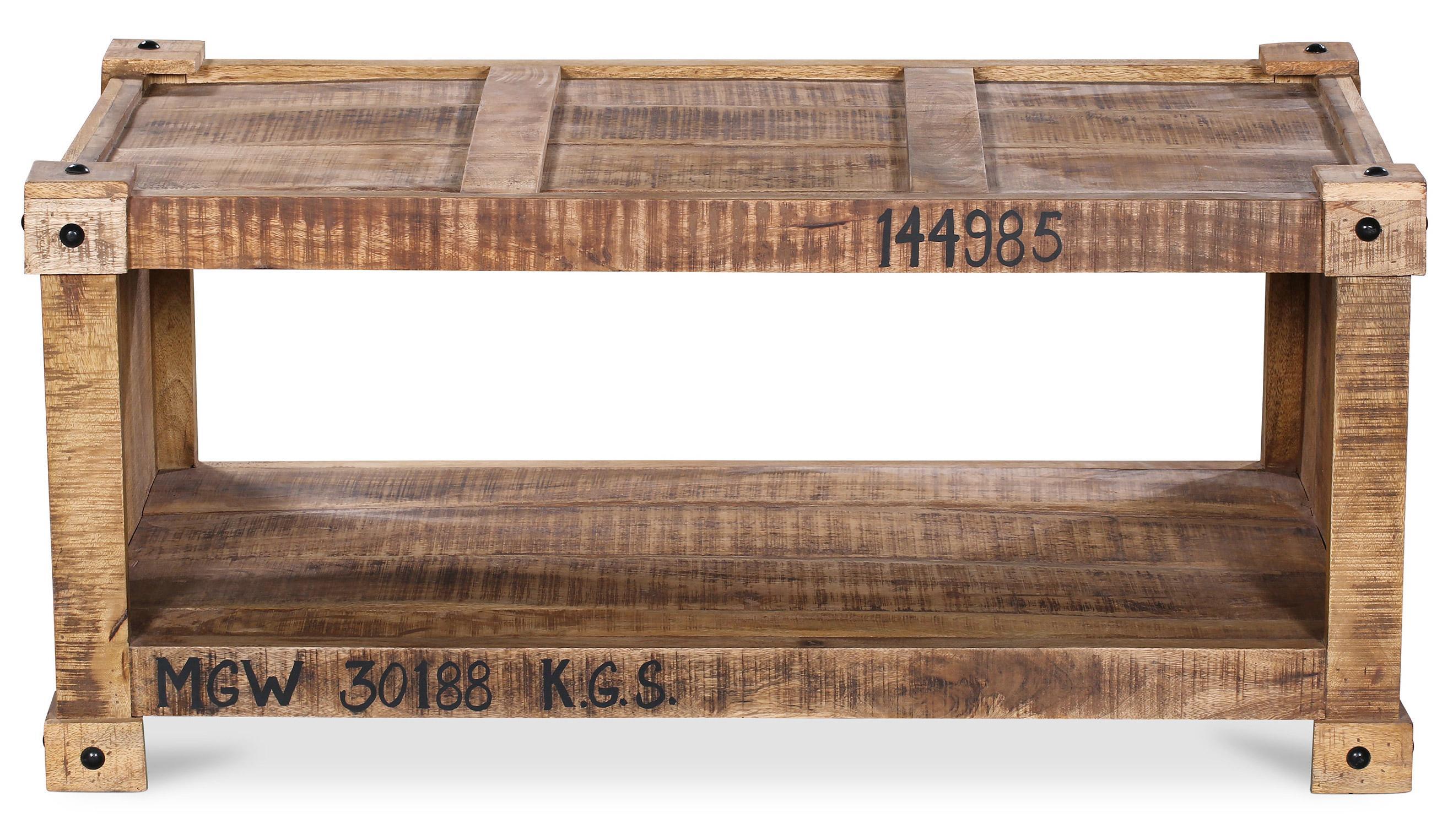 table basse rectangulaire bois de manguier porta. Black Bedroom Furniture Sets. Home Design Ideas