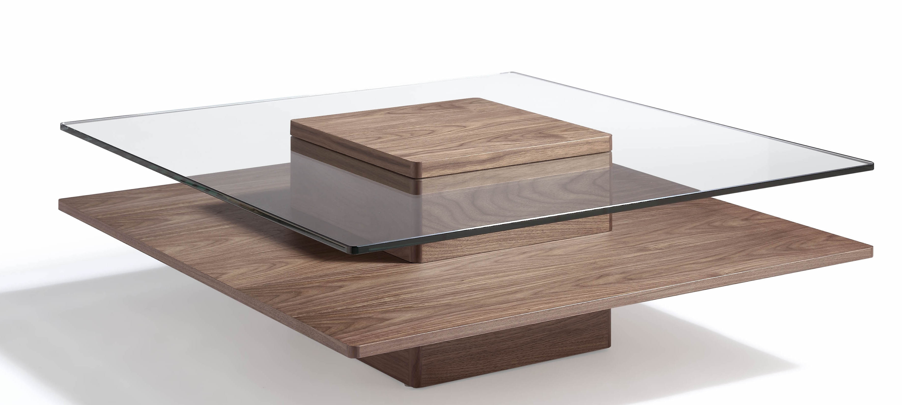 Elegant Table Basse Carr E Bois Et Fer Forg Id Es De Conception  # Grande Table Basse Carre Indus