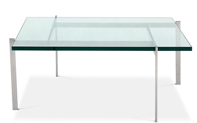 table basse carr e verre tremp 15 mm arka. Black Bedroom Furniture Sets. Home Design Ideas