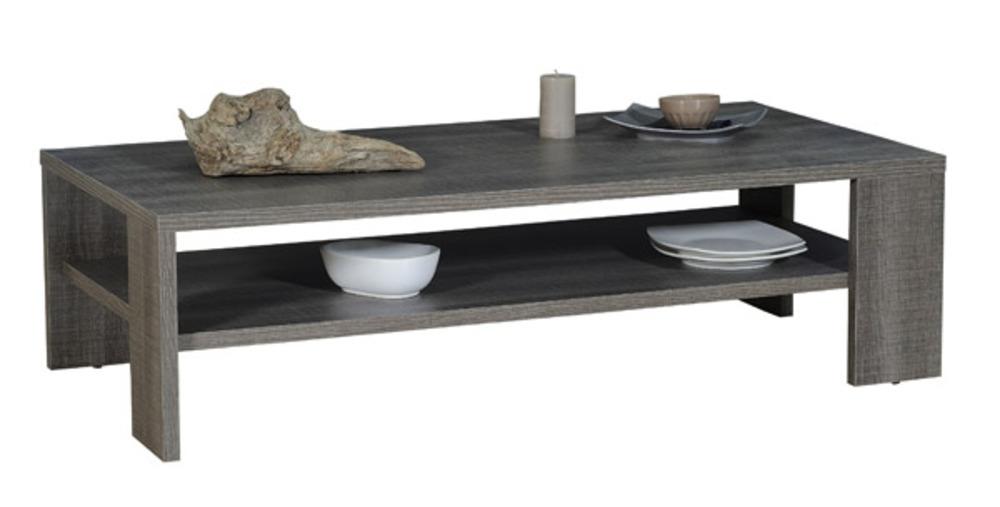 Table basse gris fonc lathi 56 - Table basse gris ...