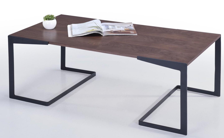 table basse bois massif marron kaze. Black Bedroom Furniture Sets. Home Design Ideas