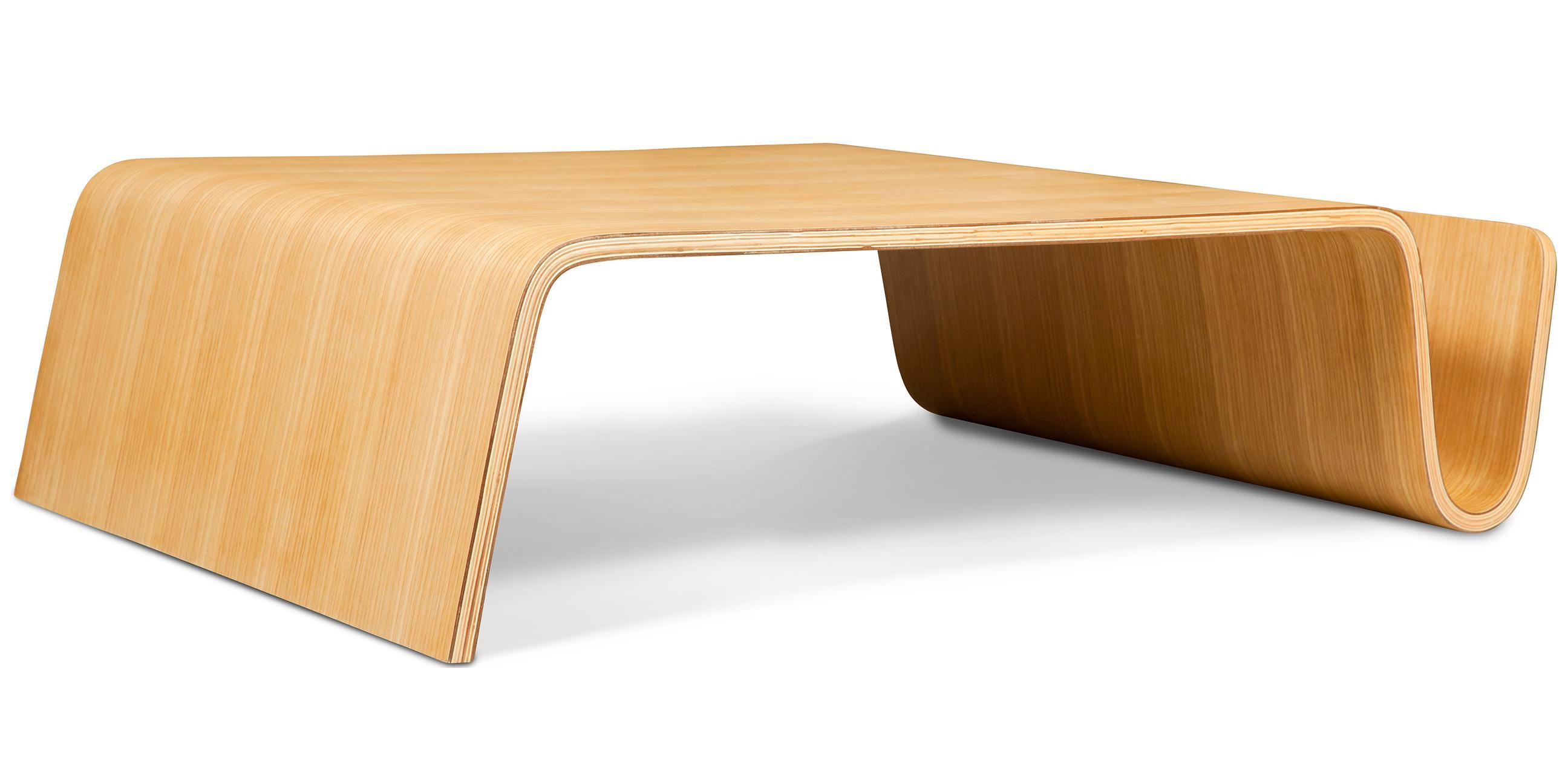 table basse porte magazines bois naturel 81 cm. Black Bedroom Furniture Sets. Home Design Ideas