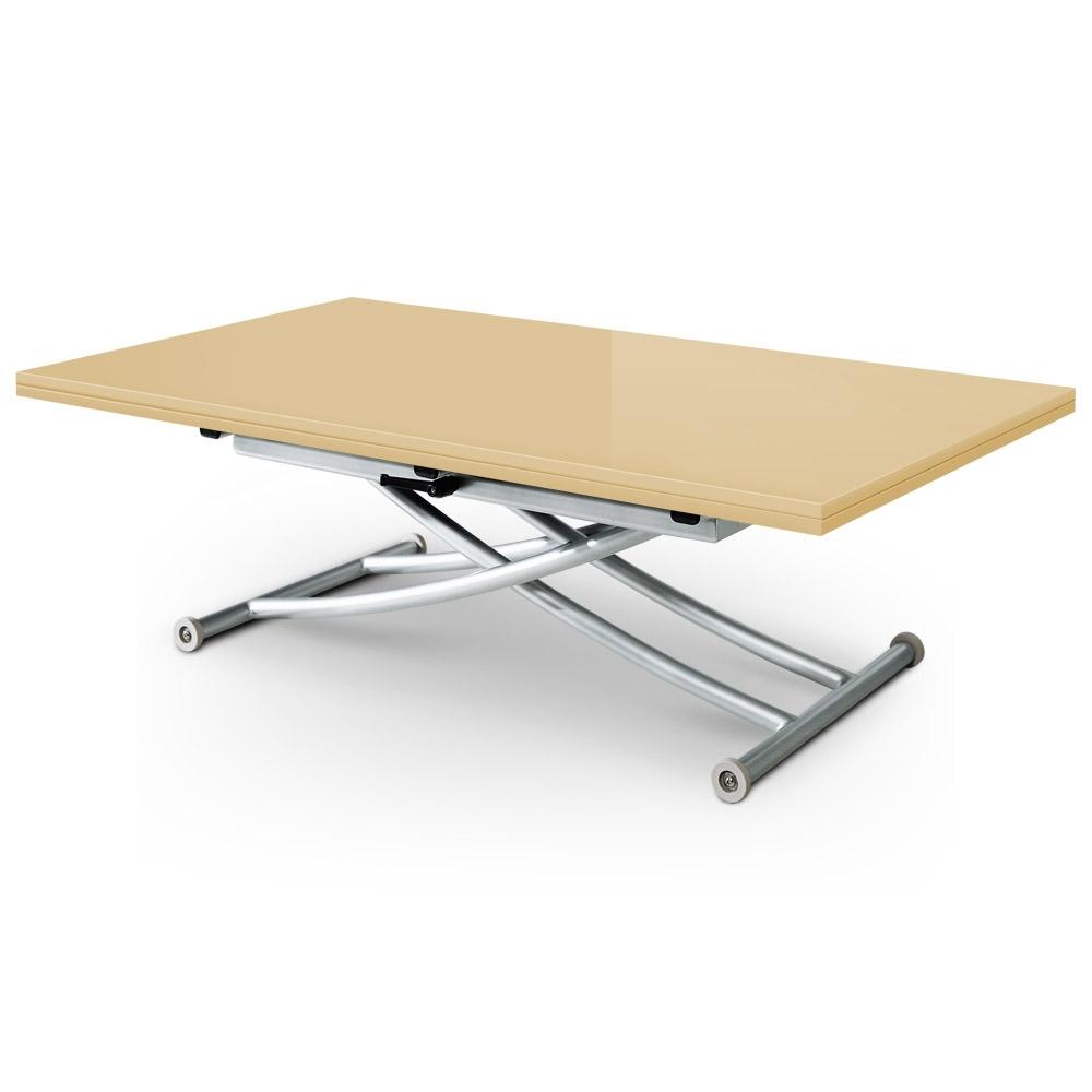 Table basse relevable kaze xl for Table basse plateau relevable pas cher