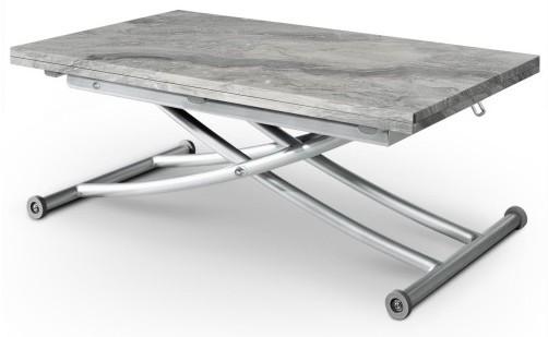 table basse relevable effet marbre carry. Black Bedroom Furniture Sets. Home Design Ideas