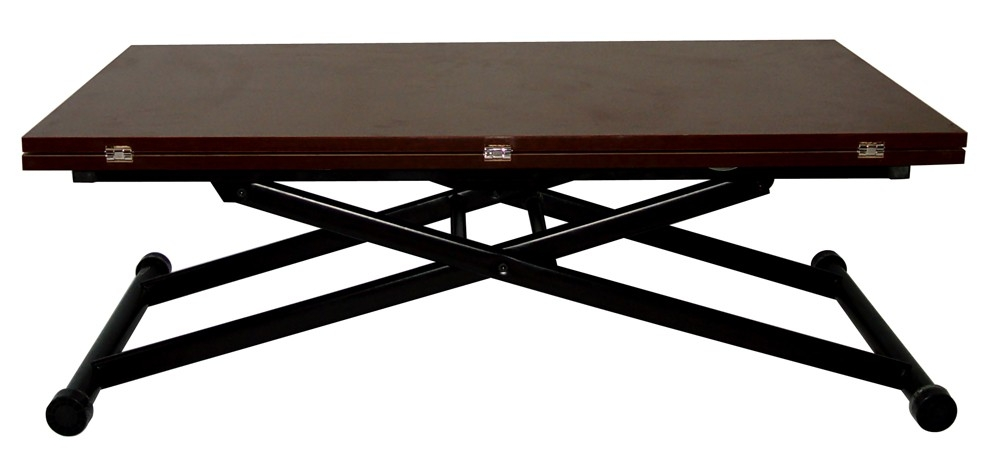 Table basse relevable weng dopp - Table basse relevable wenge ...