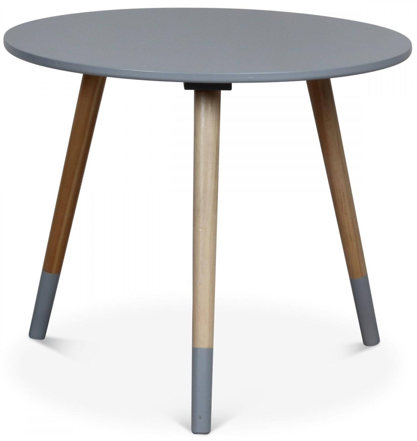 table basse scandinave grise vick 50. Black Bedroom Furniture Sets. Home Design Ideas