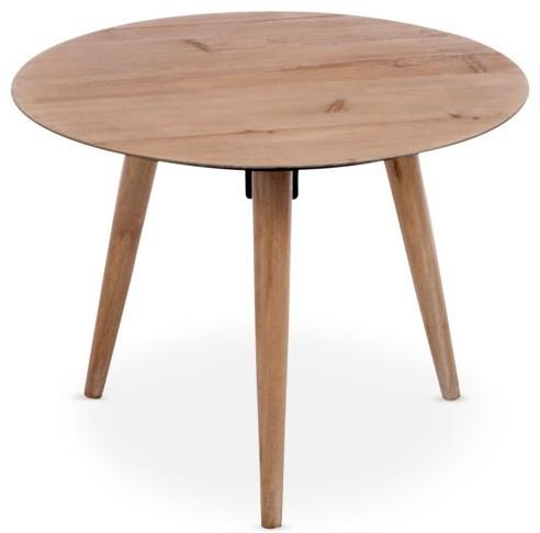 table basse scandinave ronde ch ne janette. Black Bedroom Furniture Sets. Home Design Ideas