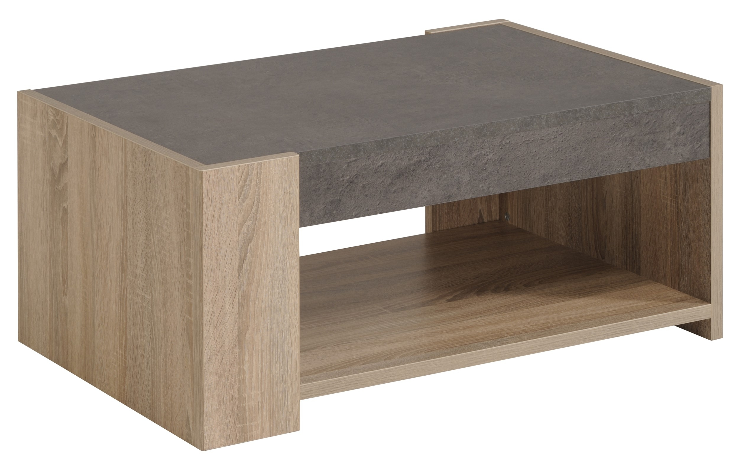 Table Basse Chene Brut Home Design & Architecture Cilif