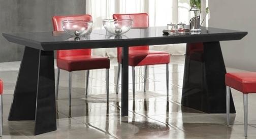 table console laqu e noire design. Black Bedroom Furniture Sets. Home Design Ideas