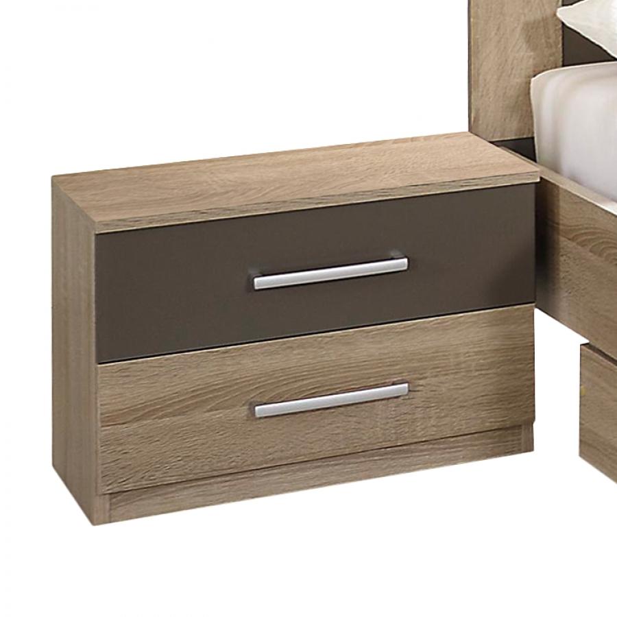 table de chevet ch ne sonoma renda. Black Bedroom Furniture Sets. Home Design Ideas