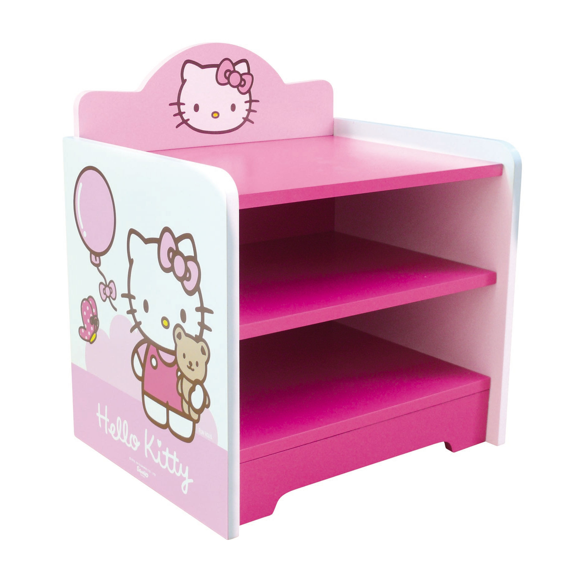 Table chevet fille good chevet en verre with table chevet fille hello kitty table de chevet - Lit hello kitty conforama ...