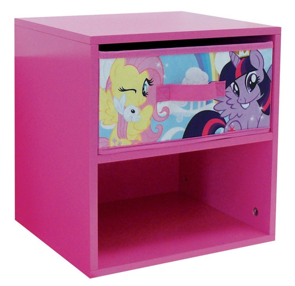 table de chevet rose my little pony. Black Bedroom Furniture Sets. Home Design Ideas