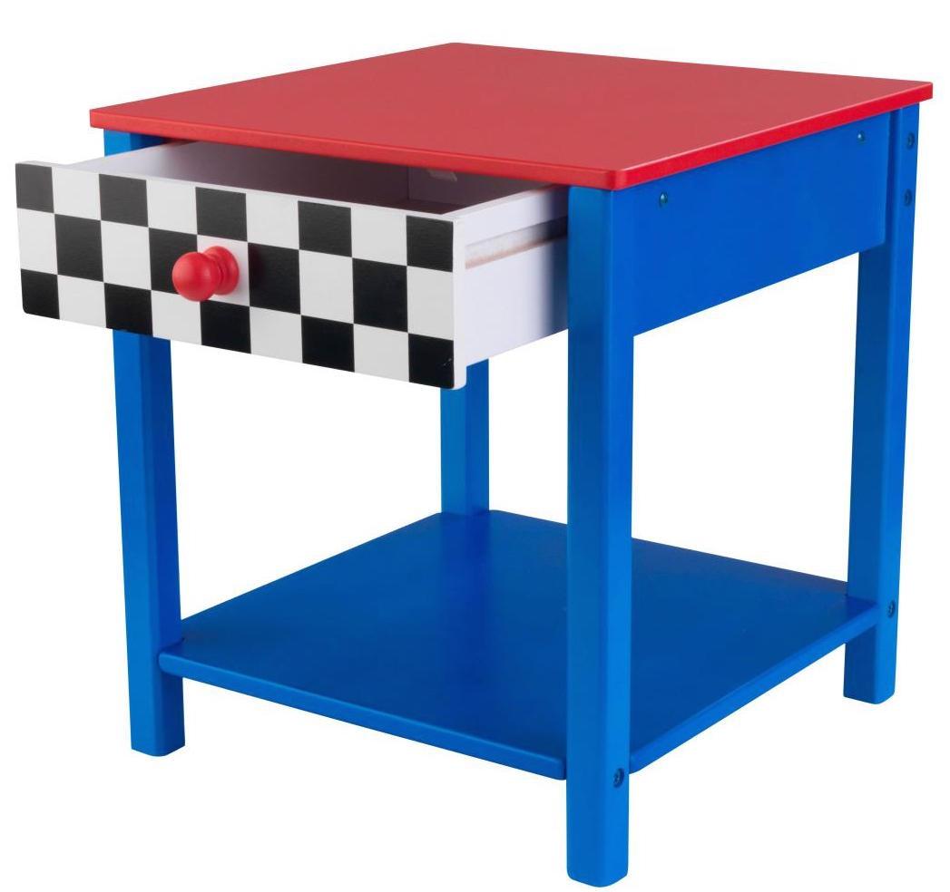 Table de chevet voiture de course kidkraft - Table de chevet voiture ...