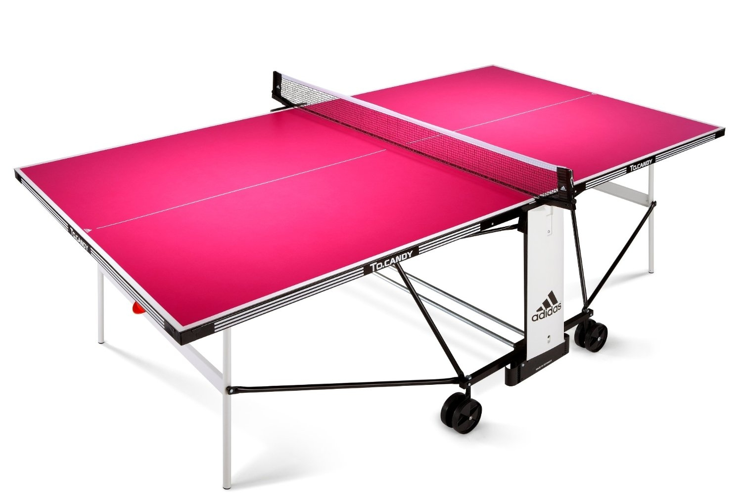 Table de ping pong d 39 ext rieur adidas to candy - Table de ping pong exterieur en solde ...