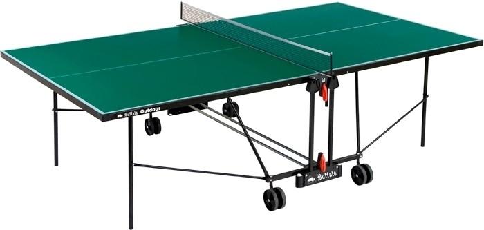 table de ping pong verte exterieure buffalo. Black Bedroom Furniture Sets. Home Design Ideas