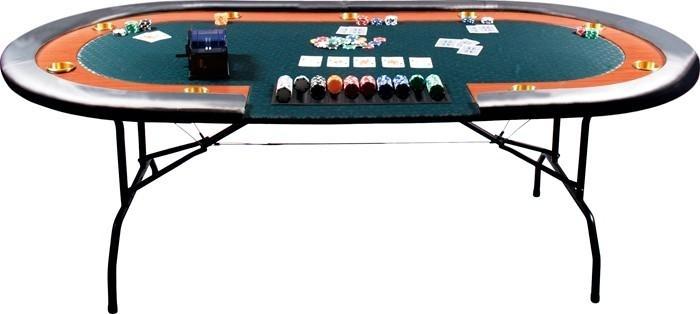 table de poker hight. Black Bedroom Furniture Sets. Home Design Ideas