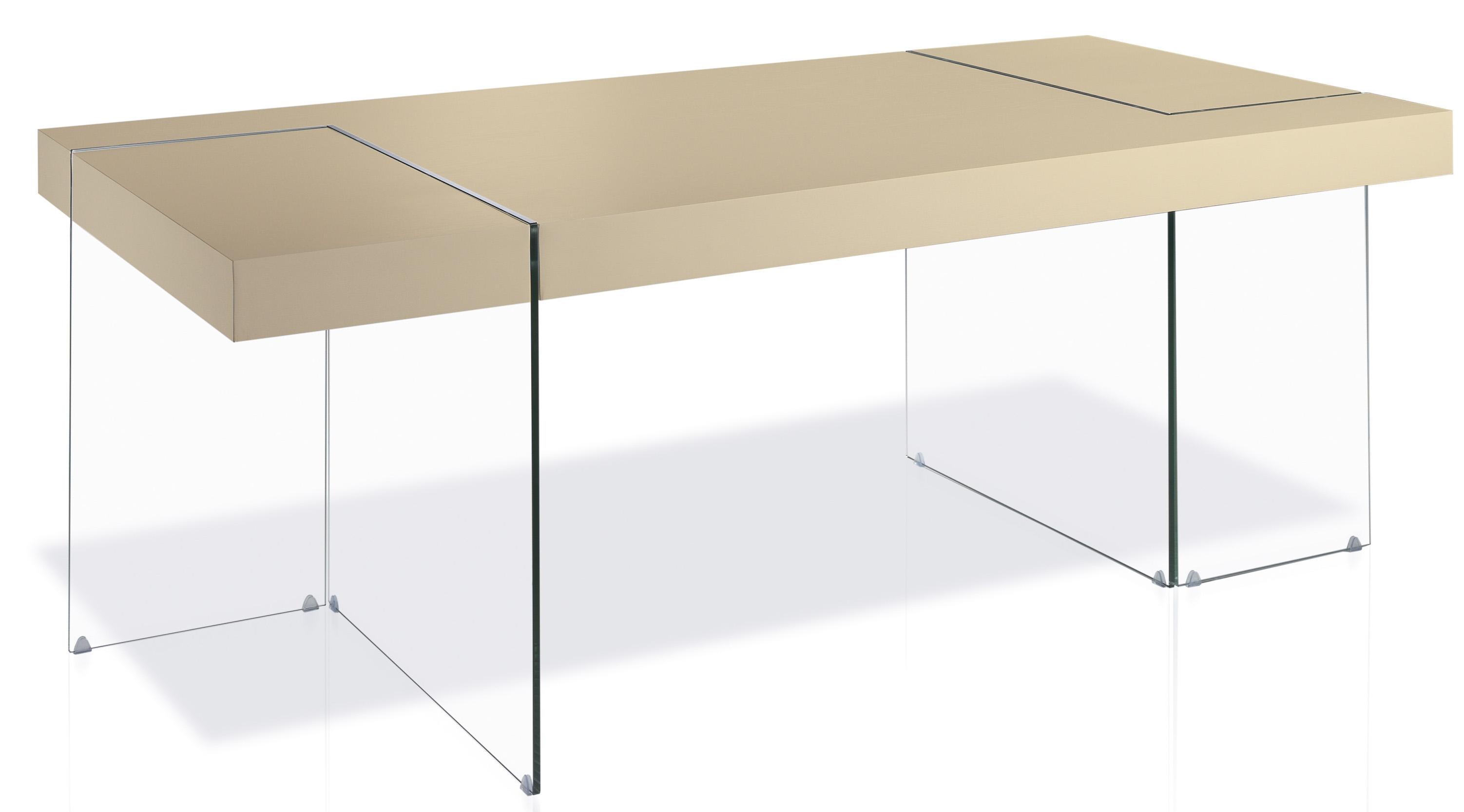 Table rectangulaire design cr me cubique - Table rectangulaire design ...