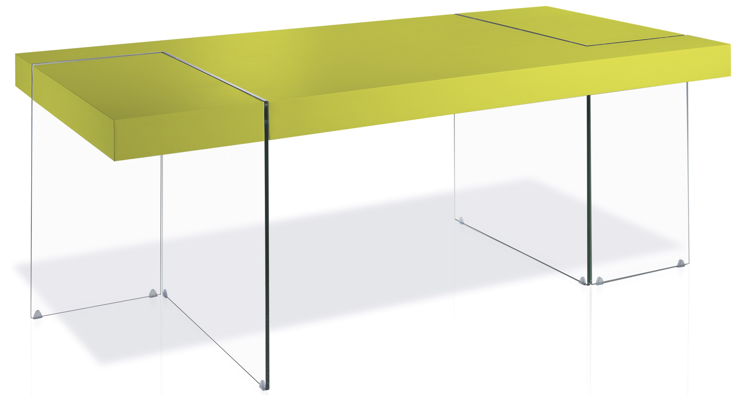 Table rectangulaire design pistache cubique - Table rectangulaire design ...