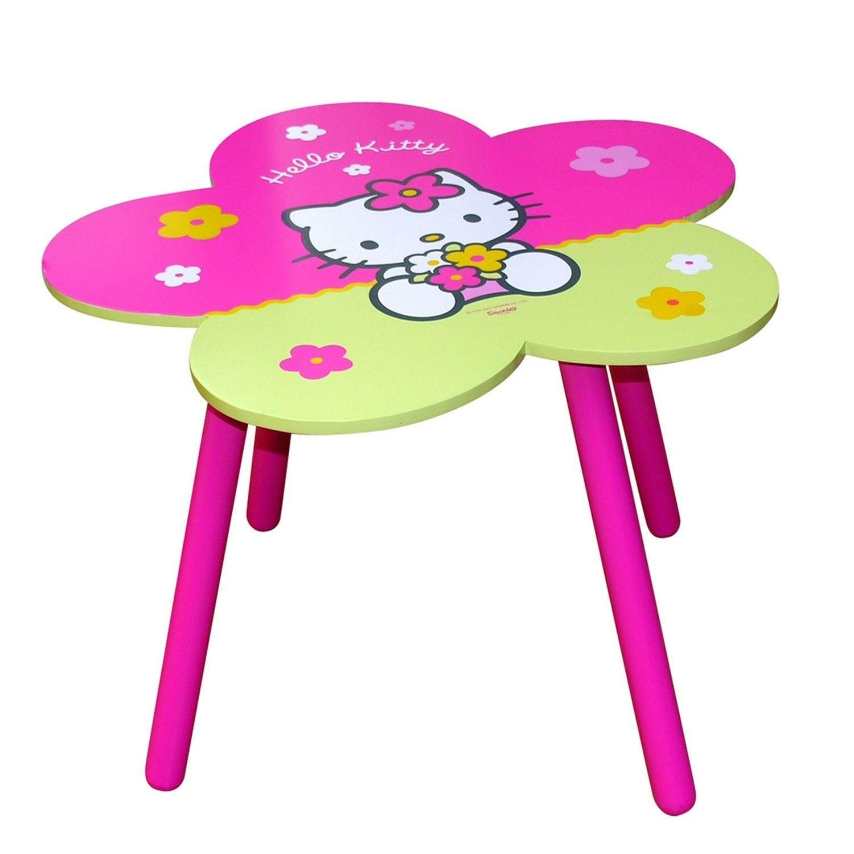 Table fleur hello kitty - Table et chaise hello kitty ...