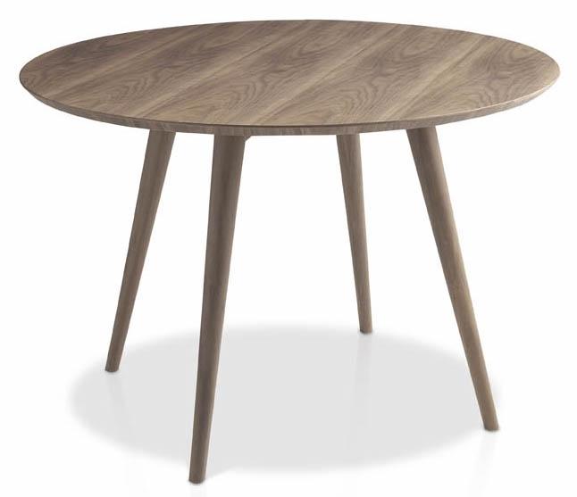 Table ronde Bois noyer Roka  LesTendancesfr