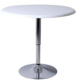 table ronde de bar blanc bowy. Black Bedroom Furniture Sets. Home Design Ideas