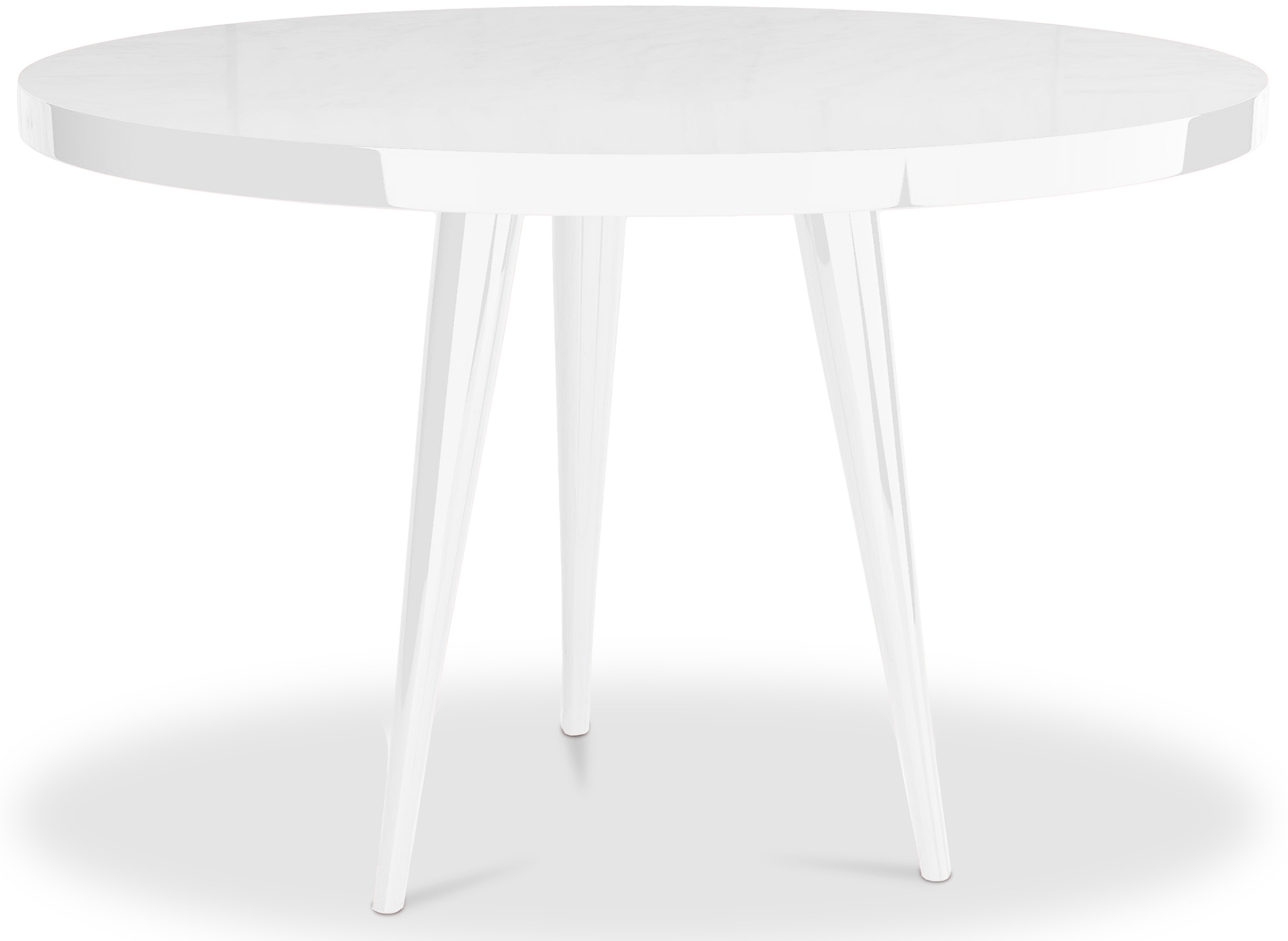 Table laque blanc extensible maison 28 images table for Table ronde extensible