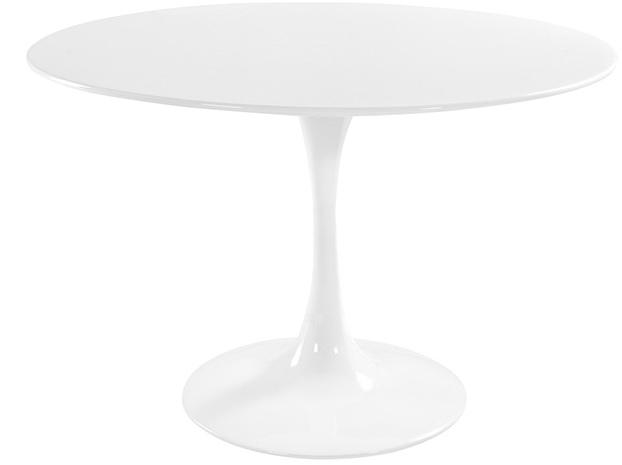 table ronde tulipe blanche 120 cm. Black Bedroom Furniture Sets. Home Design Ideas