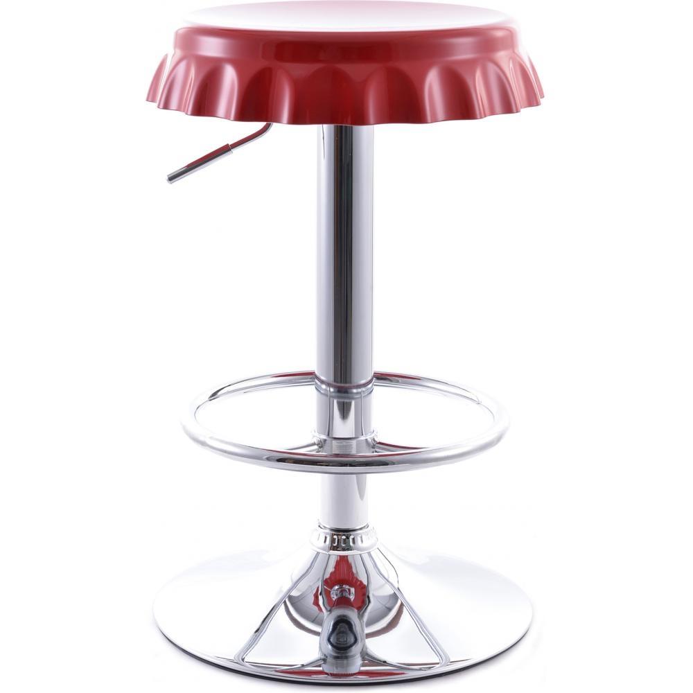 tabouret de bar capsule rouge. Black Bedroom Furniture Sets. Home Design Ideas
