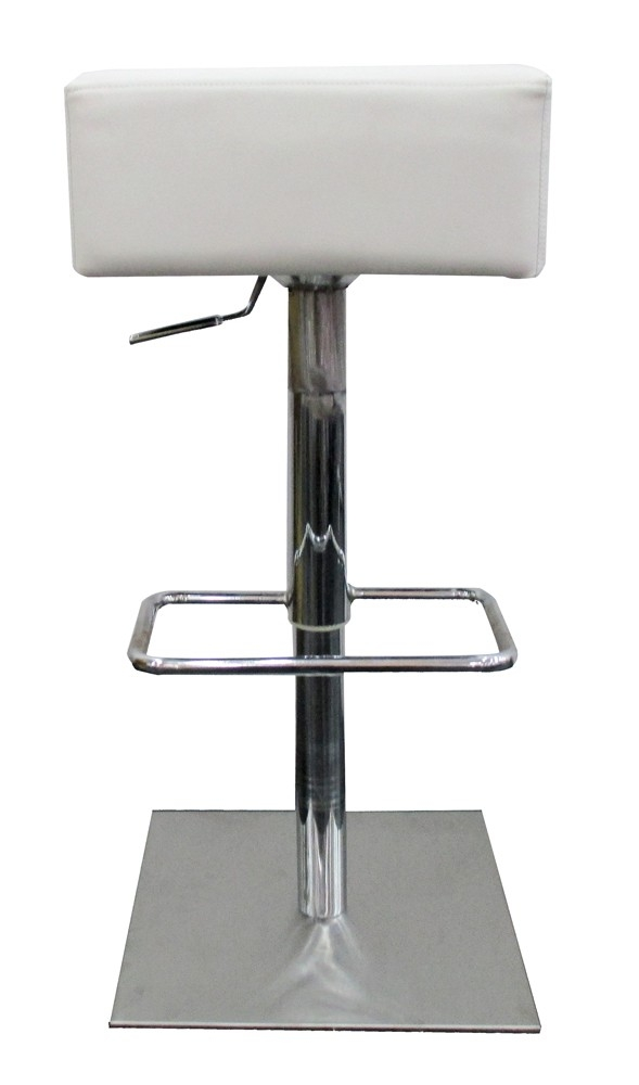 tabouret de bar blanc carre