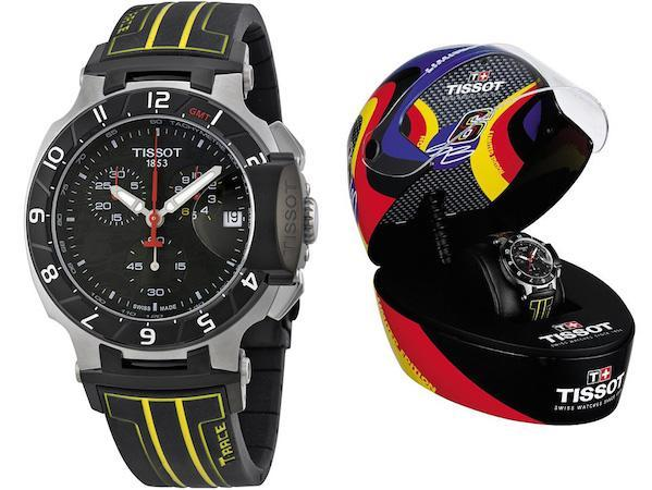 tissot t race stefan bradl limited edition n 0697 2014 gmt chronograph t0484172705103. Black Bedroom Furniture Sets. Home Design Ideas