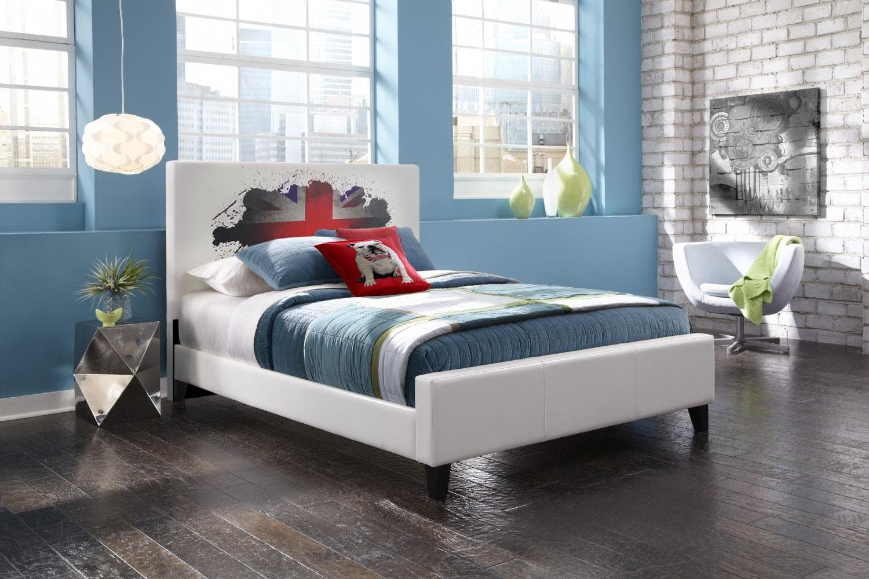 t te de lit londres longueur 160 cm. Black Bedroom Furniture Sets. Home Design Ideas