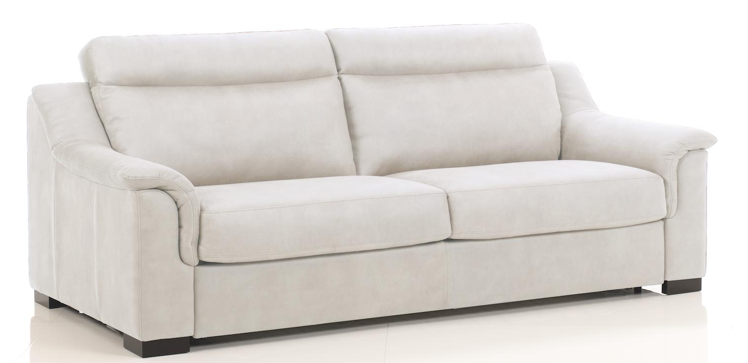 canap convertible rev tement microfibre ecru helena mod le 1 place. Black Bedroom Furniture Sets. Home Design Ideas