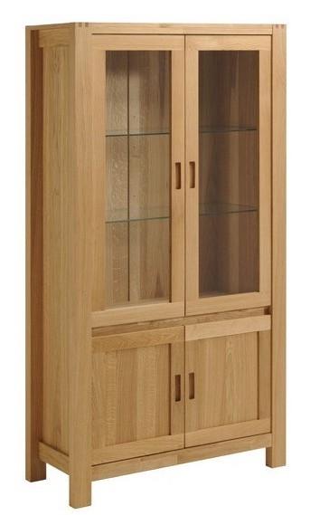 vaisselier bois massif ch ne huil margot. Black Bedroom Furniture Sets. Home Design Ideas